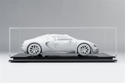 The bugatti veyron 16.4 grand sport is the world's fastest and most exciting roadster, and will be displayed to the public for the first time on the afternoon of august 16, 2008, outside the lodge at pebble beach. Bugatti Veyron 16.4 Grand Sport Vitesse - White Edition - Amalgam Collection