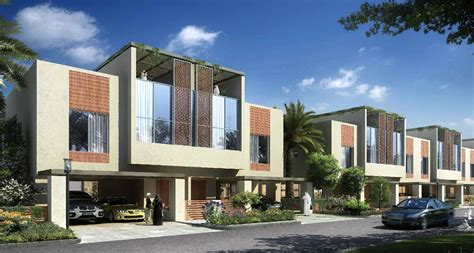 Town House Plans Modern by Grand Views Luxury Townhouses In Dubai