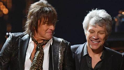 Bon Jovi Reunites Enter Rock Roll Hall Fame