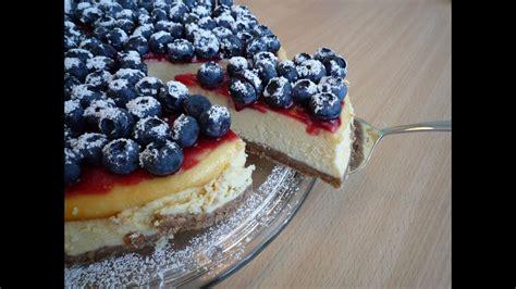 american cheesecake  amerikanischer kaesekuchen  super