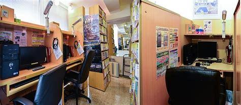 manga cafes manga kissa  internet cafes