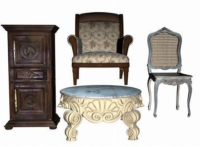 Furniture Transparent Antique Clipart Farnichar Pack Pluspng