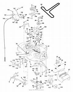 Ayp  Electrolux Q14542a  2000  Parts Diagram For Mower Deck