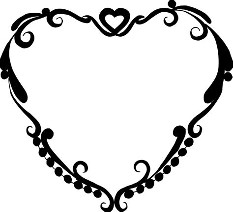 Check out our list of free svg & png downloads! 10 Heart Frame Vector (PNG Transparent, SVG) | OnlyGFX.com