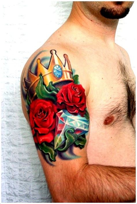 glorious crown tattoos  meanings