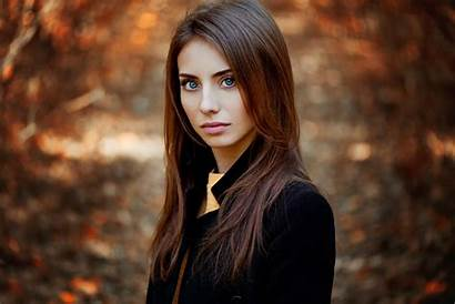 Brunette Wallpapers Eyes Portrait Hair Face Nevreva