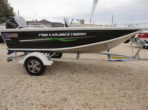 Used Boat Motors Vic by Quintrex Suzuki Mercury Outboard Boats For Sale By