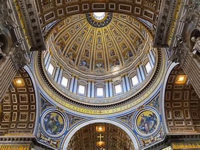 Dome Basilica Peter St Architecture Vatican Interior