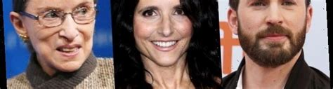 Chris Evans and Julia Louis-Dreyfus Pay Respect to Late ...