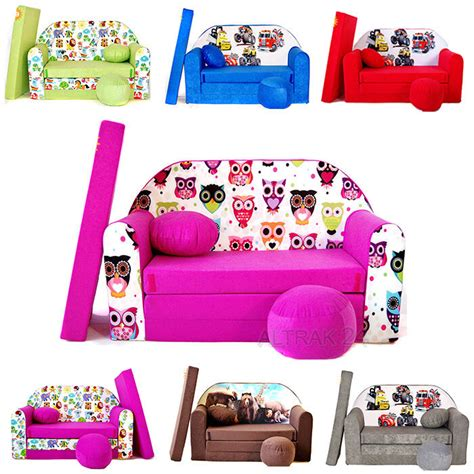 Childrens Bedroom Furniture Sale Ebay by Children S Sofa Foam Bed Sofa Pouffe Pillow Great