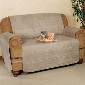 Ultimate pet furniture protectors with straps for Two dogs furniture covers