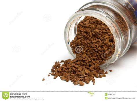 Instant coffee in the form of grains | meaning, pronunciation, translations and examples. Coffee granules stock image. Image of background, black - 11902167