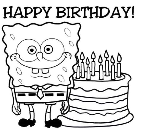 happy birthday coloring pages  adults coloring pages
