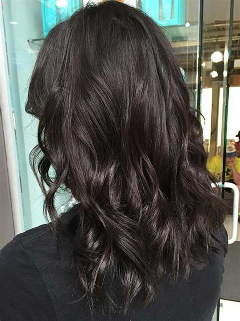 Blackish Brown Hair Color by двухтонный тёмный шоколад цвет волос In 2019 тёмный