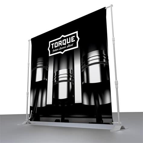 torque indoor banner stand venture banners