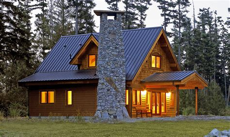 """Floor Plans For The Small Cabins Featured In """"going Small"""""""