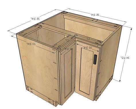 Kitchen Corner Base Cabinet