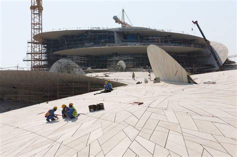 Nationalmuseum Katar In Doha by National Museum Katar Werner Sobek