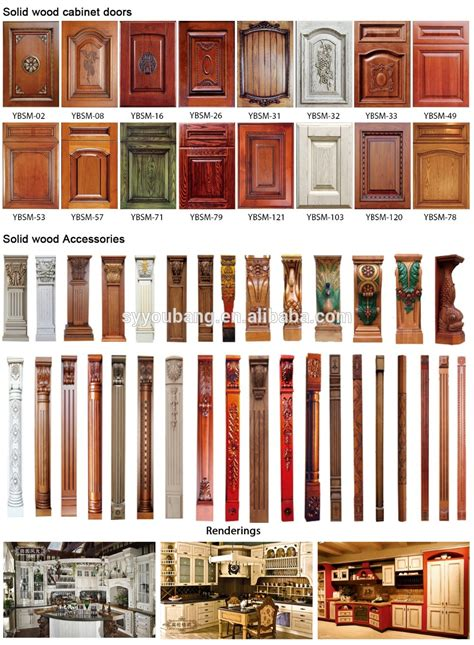 Pre Made Mdf Cabinet Doors by Ready Made China Solid Wood Doors From Youbang Wood Buy