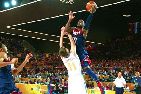 usa basketball  ukraine  score  highlights