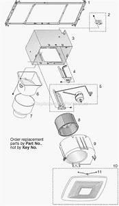 Broan Xb80 Parts List And Diagram   Ereplacementparts Com