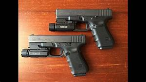 Glock 19 Gen 4 - Two Different Slide Finishes