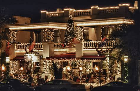 st augustine lights up for the holidays homeless and