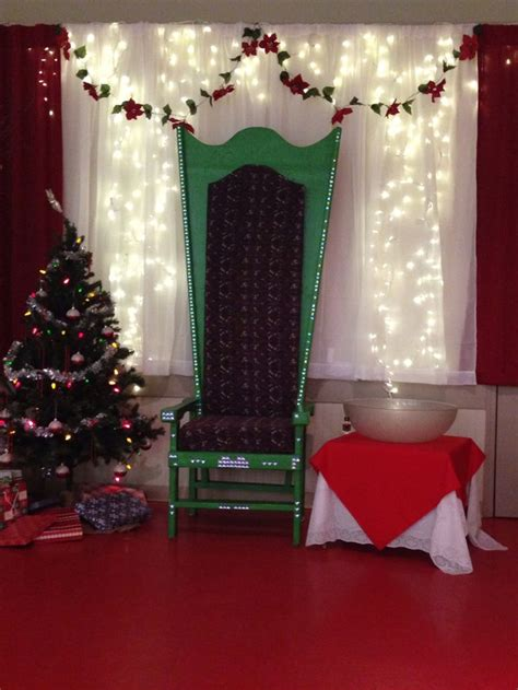 Backdrop Santa by 32 Best Santas Grotto Images On