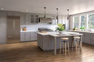 Timeless, Appeal, How, To, Design, A, Contemporary, Kitchen, With, Classic, Shaker, Cabinets, U2013, The, Rta, Store