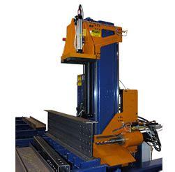 ocean machinery flipper beam rotator column positioner