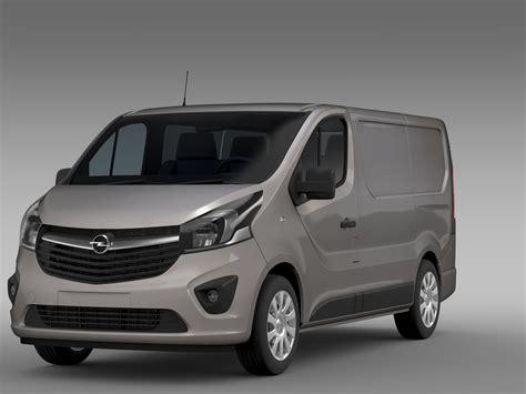 Opel Vivaro by Opel Vivaro 2015 3d Model Buy Opel Vivaro 2015