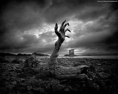 Gothic Dark Background Wallpapers Fantasy Surreal Dead