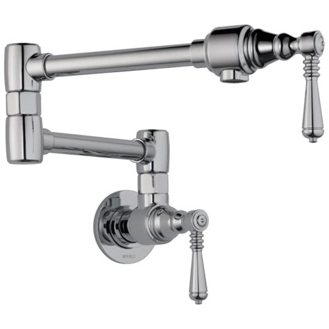 Wall Mount Pot Filler Kitchen Faucet by Traditional Wall Mount Pot Filler Faucet 62810lf Modlar