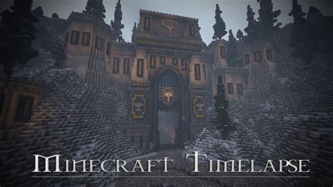 boitameu minecraft timelapse dwarf entrance world  warcraft inspiration