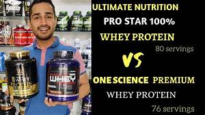 Ultimate Nutrition Pro Star Vs