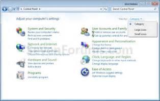 All Control Panel Items Windows 1.0