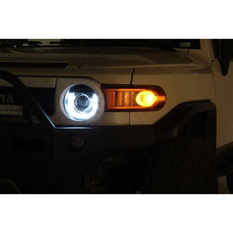 led lights for home interior 07 13 toyota fj cruiser 3d drl led projector