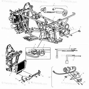 Polaris Atv 2002 Oem Parts Diagram For Multi Mount Winch Aj