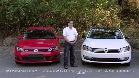 Spied! 2014 Vw Gti, Passat 1.8 & Scirocco R On Usa Soil