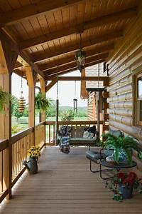 überdachte Terrasse Bauen : berdachte veranda holz schaukel bauen vordachbau ideen rund ums haus pinterest veranda ~ Markanthonyermac.com Haus und Dekorationen