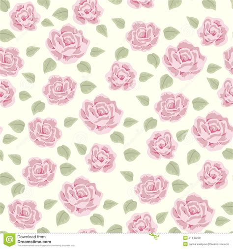 shabby chic floral pattern rose and berry pattern 3 royalty free stock photos image 31443238