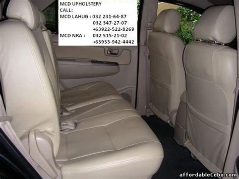 Car Interior Upholstery Philippines by Auto Painting Shop Cebu Auto Repair Auto