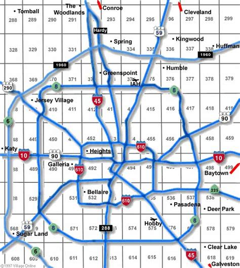 Houston Zip Code Map Printable