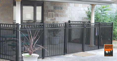 commercial grade wellington extra picket fence cedar