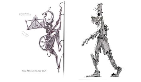 Concept Art For The Original Darker Epic Mickey Gaming
