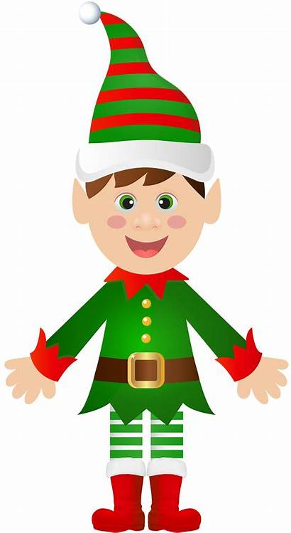 Elf Clip Transparent Elves Clipart Cartoon Santa