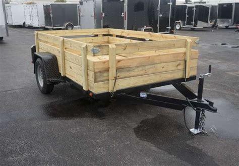 open utility trailer removable sides advantage trailer