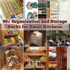 40+ Organization And Storage Hacks For Small Kitchens  I