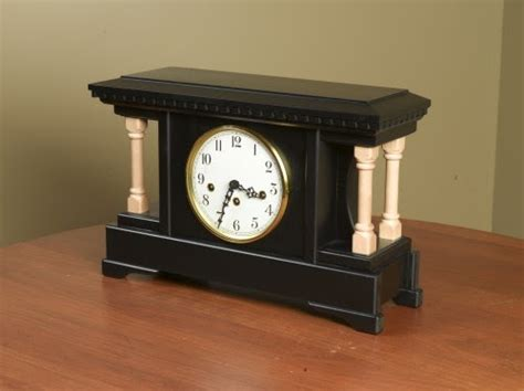 amish handcrafted clocks asherry mantel clock