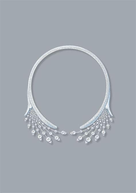 splendeurs de russie necklace tiara drawing